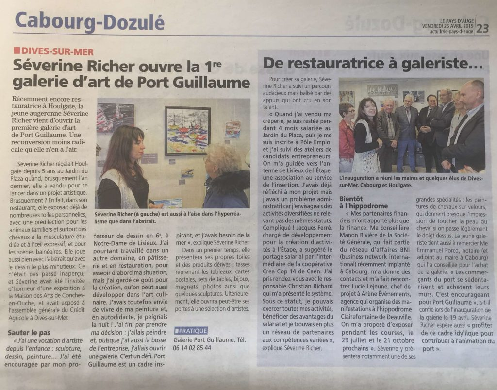 article-de-presse-inauguration-galerie-port-guillaume