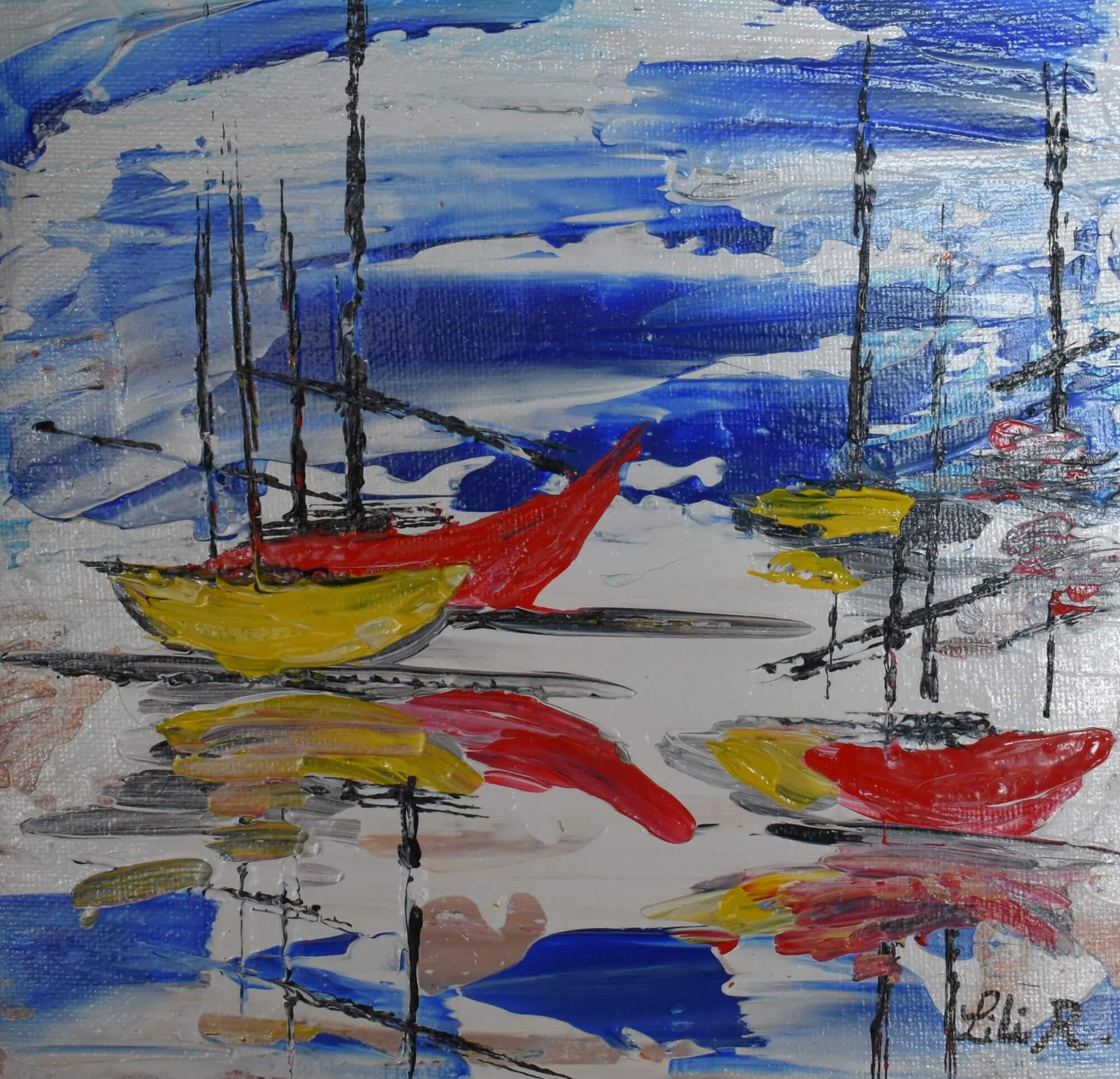 les bateaux de Port Guillaume