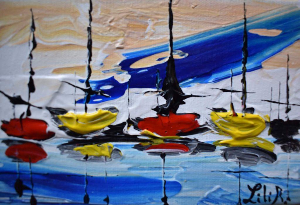 bateaux abstrait1 severine richer peintre normand