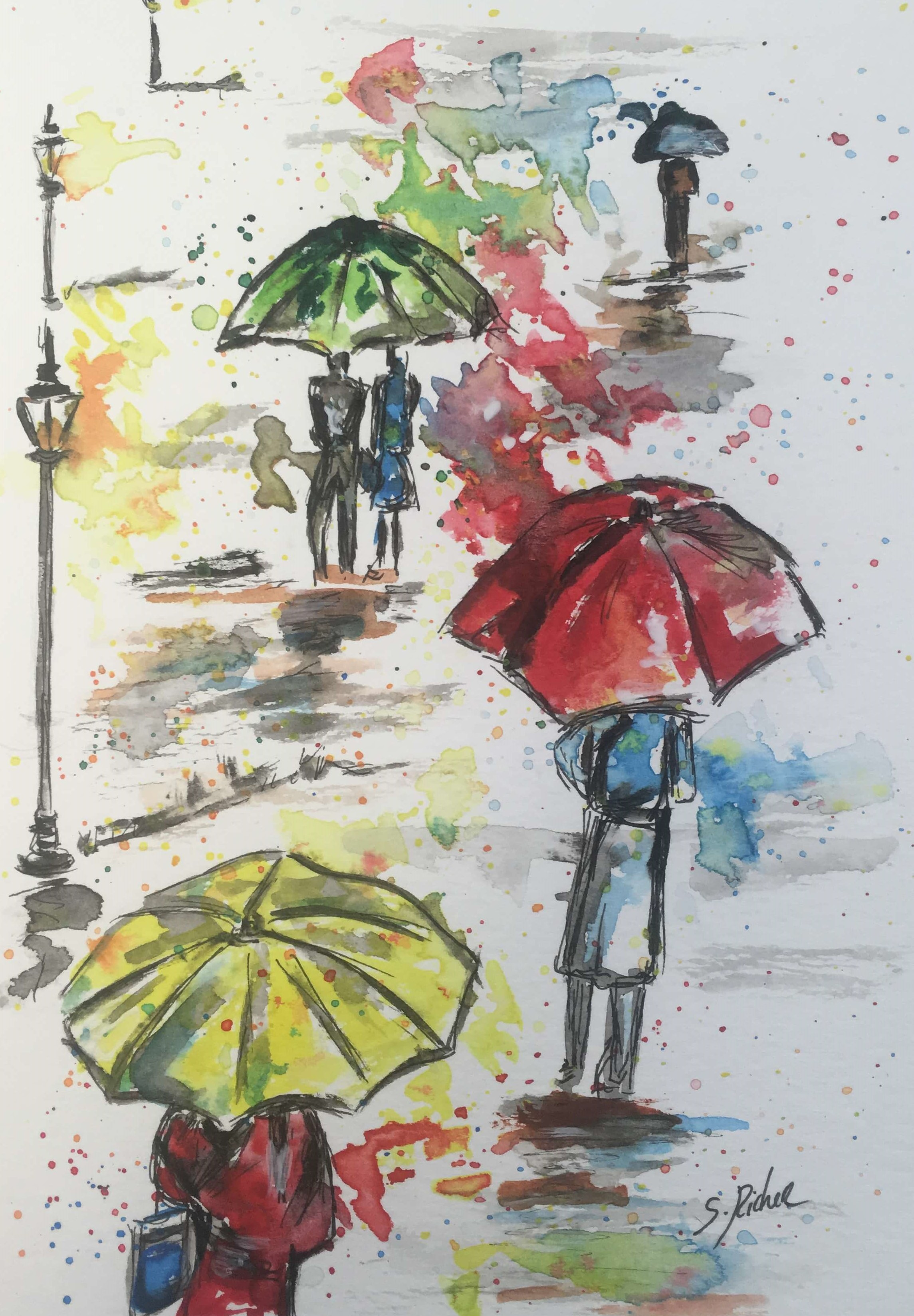 parapluie-severine-richer-aquarelle-normandie