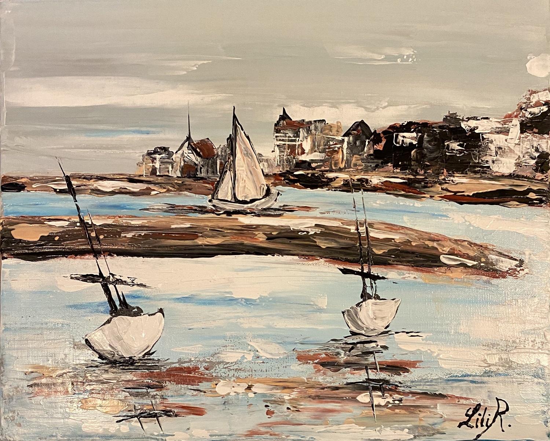 meilleur-peintre-severine-richer-sortie-du-port-de-dives-sur-mer-vers-houlgate-collection-liliR..jpg